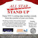 All Star Stand Up Comedy Virtual