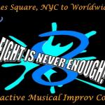 Broadway Comedy Club presents Interactive Musical Comedy Improvised Online