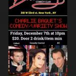 Charles Bacquet Co,eddy and Variety Show