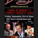 Charles Bacquet Comedy and Variety Show