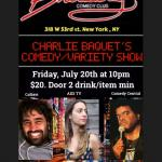 Charles Bacquet Comedy andVariety Show