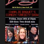 Charles Bacquet Comedyand Variety Show