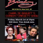 Charlie Bacquet Comedy and Variety Show