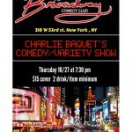 Charlie Baquet's Comedy Variety Show