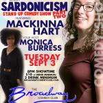 DBJ Comedy Presents Sardonicism