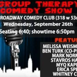 Group Therapy Comedy Show