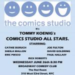 Tommy Koenig's  Comedy Studio All Stars