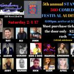 Auditions for 360 Comedy Festival