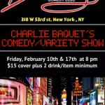 Charlie Bacquet Show