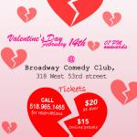 Heartbreak Hotel Comedy Show