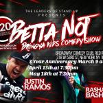 Betta Not Bring Your Kids Comedy Show